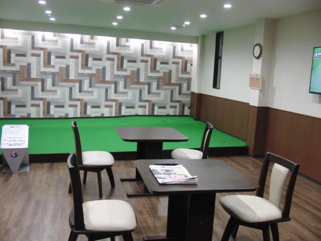 KKゴルフ 休憩室